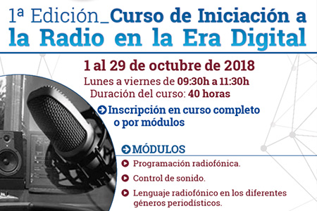Curso radio dentro web