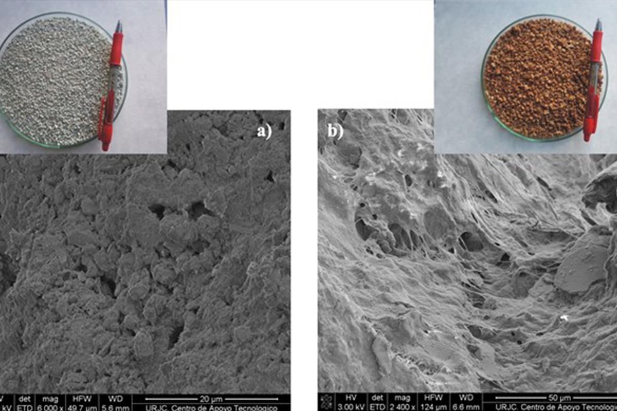 Investigadores de la URJC utilizan materiales de bajo coste para el tratamiento de aguas residuales