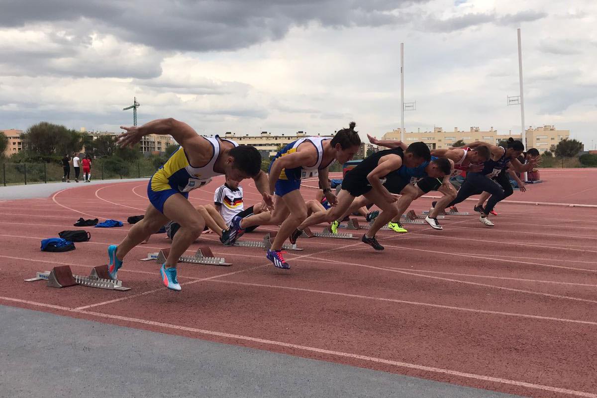 La URJC organiza el Campeonato Universitario de Atletismo de Madrid