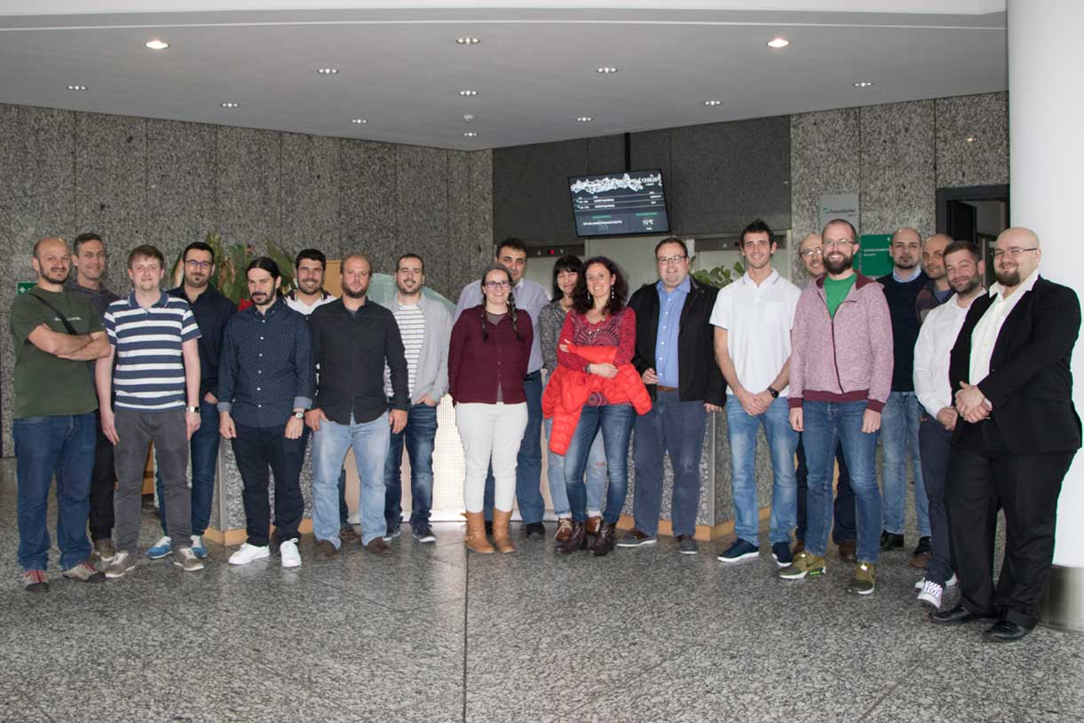 El equipo del proyecto europeo ElasTest, coordinado por la URJC, se reúne en Berlín