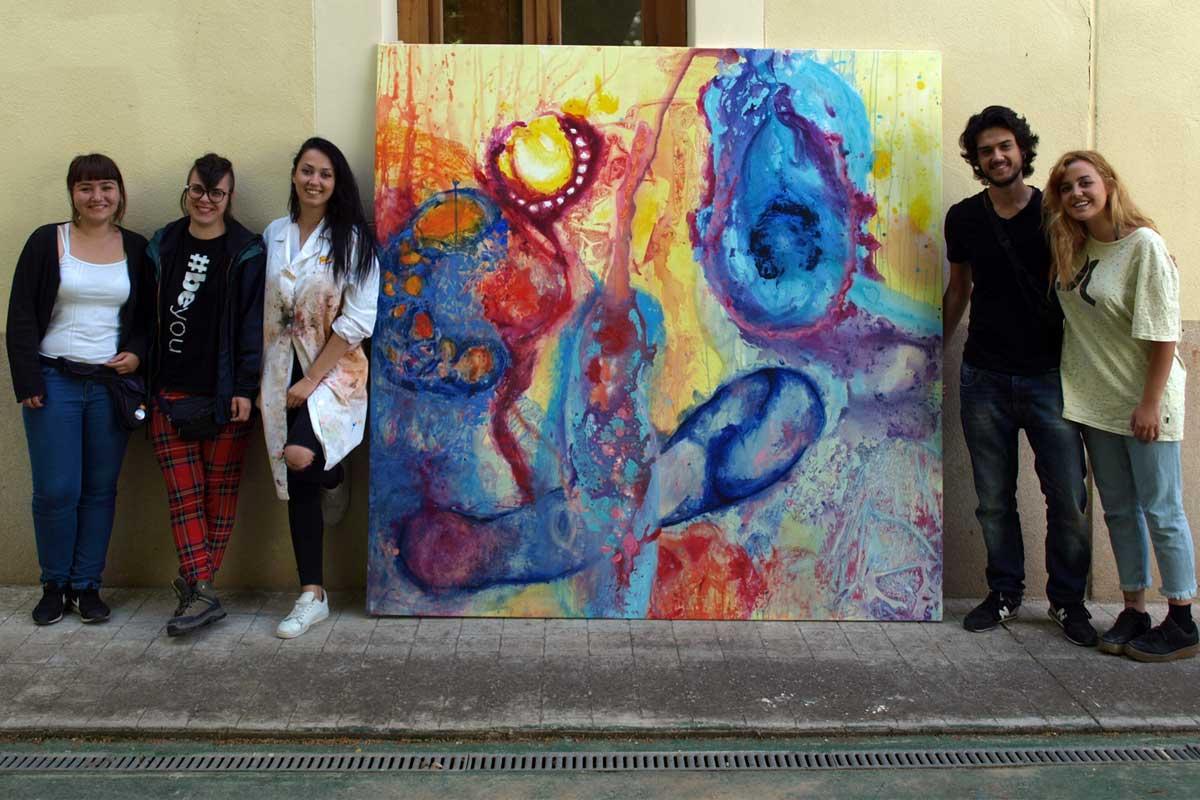 Estudiantes de Bellas Artes de la URJC participan en el I seminario de pintura de paisaje 'Paisaje y Jardines de Aranjuez'