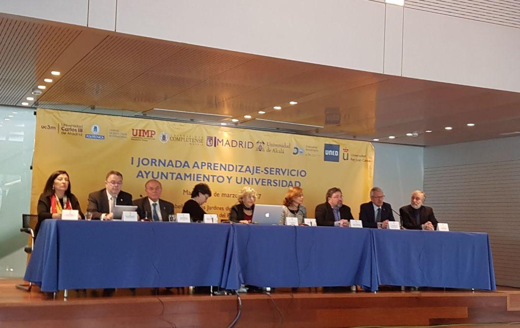 Las universidades públicas madrileñas y el ayuntamiento capitalino cooperan en proyectos de asistencia y apoyo a la comunidad