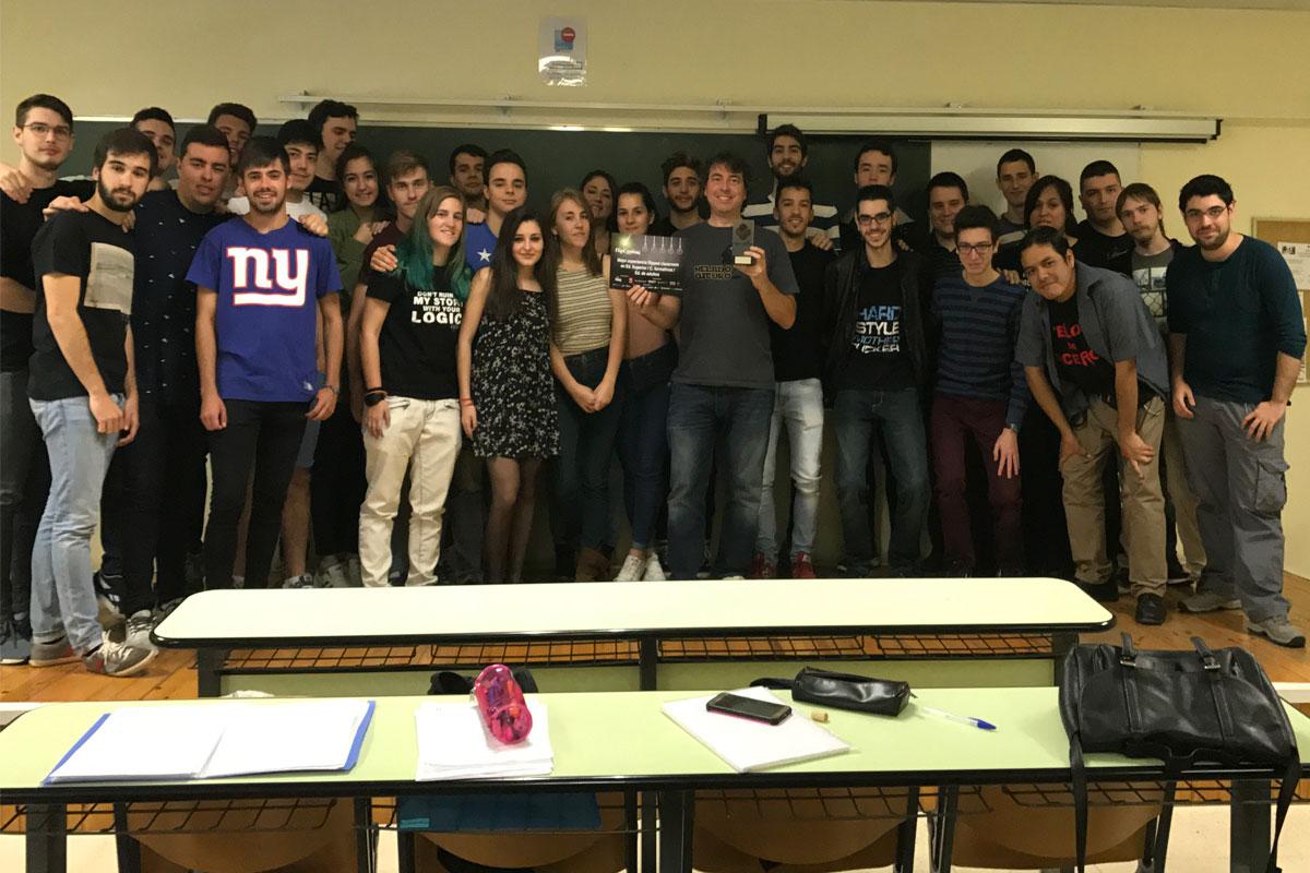 El profesor de la ETSII, César Cáceres, premiado a la mejor experiencia universitaria empleando la metodología de Flipped Learning.
