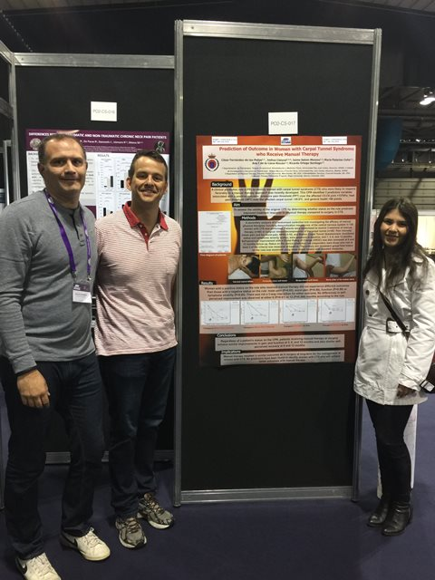 Profesores de la URJC participan en el Congreso Internacional de la International Federation of Orthopaedic of Manipulative Physical Therapist en Glasgow