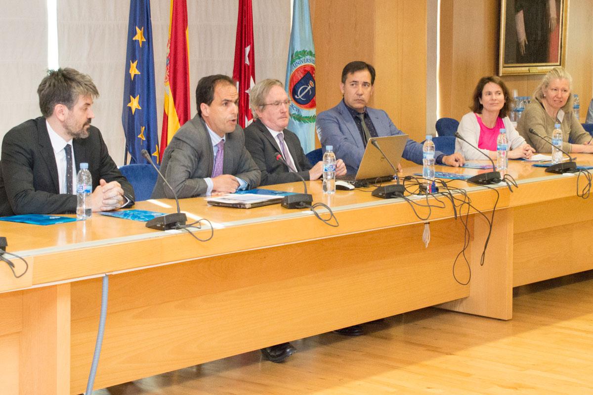 El rector de la URJC recibe a los responsables de movilidad de los centros participantes en el programa International Week Erasmus+