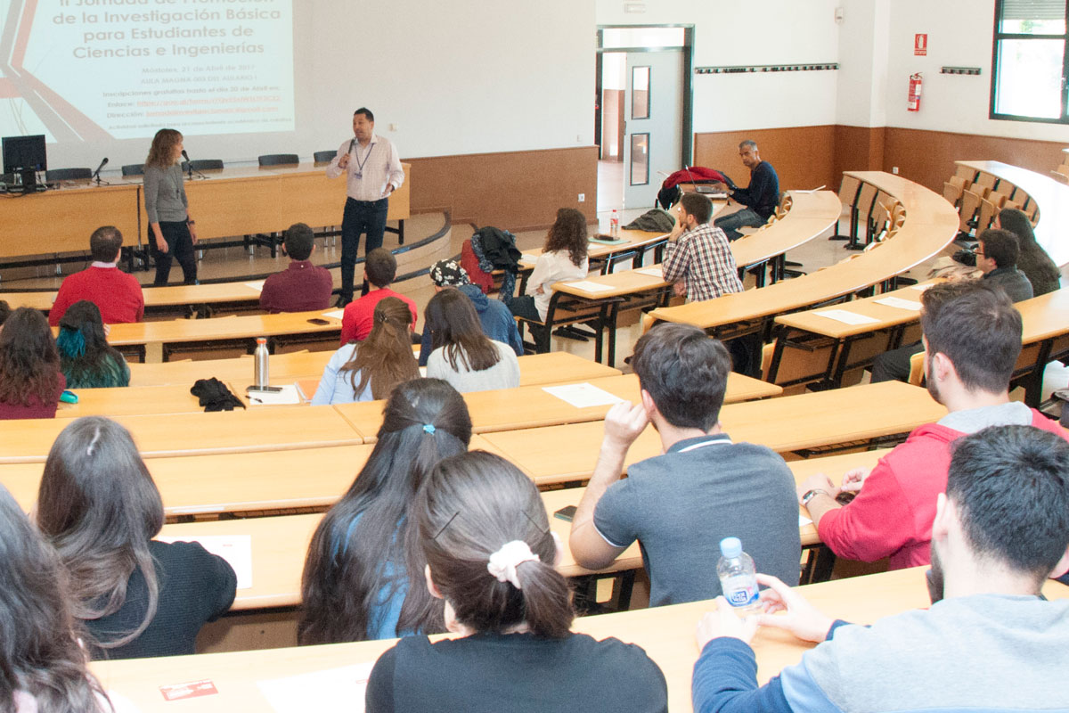II Jornada de Promoción de la Investigación Básica para Estudiantes de Ciencias e Ingenierías