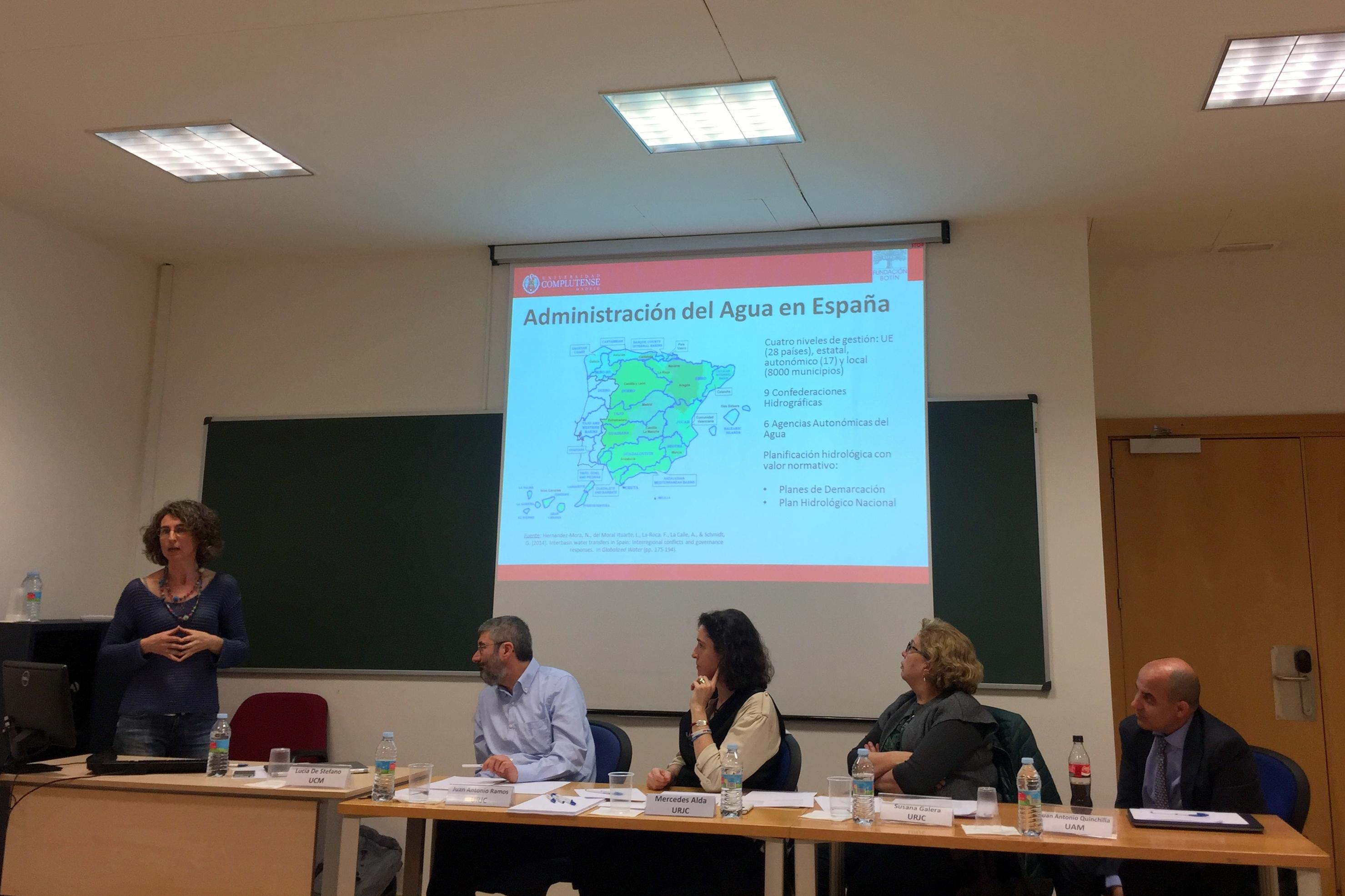 Profesores de la Facultad de Ciencias Jurídicas y Sociales organizan una jornada sobre la gobernanza del agua en España