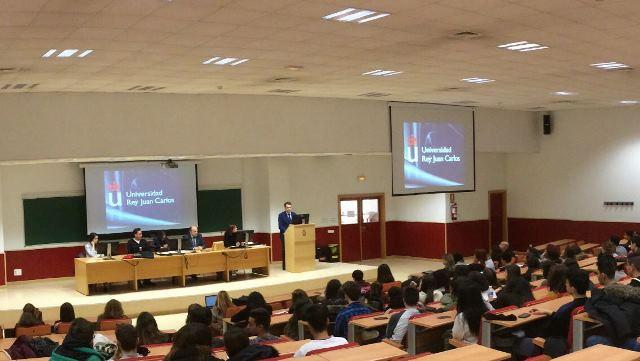 Las Jornadas sobre Acceso a la Universidad de la URJC reúnen a 1700 alumnos de 31 centros educativos