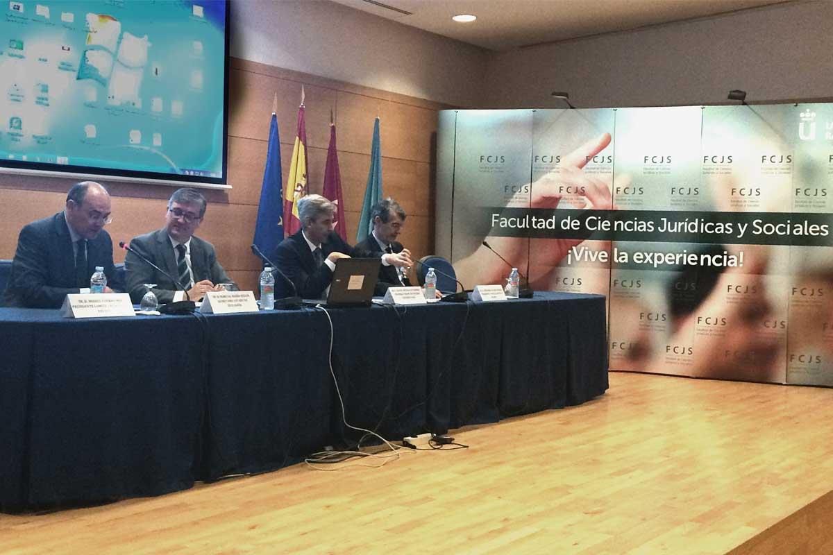 El Secretario de Estado de Educación inaugura las XIII Jornadas de Política Económica Internacional de la URJC